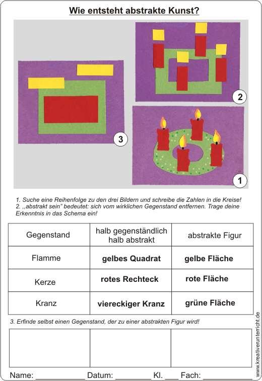 Abstrakte kunst wie entsteht abstrakte kunst beispiel - Adventskranz englisch ...