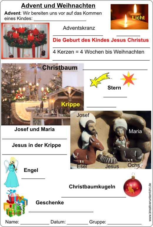 Advent und Weihnachten - Warten auf Jesus