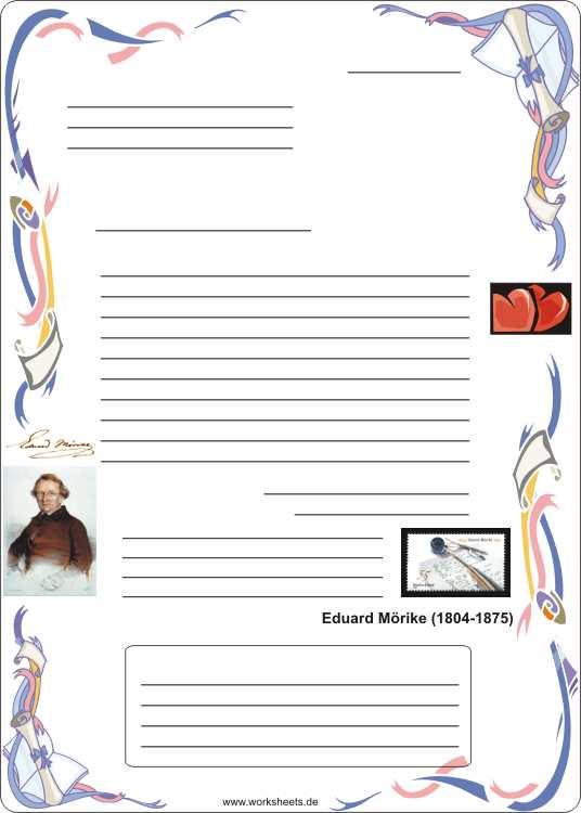 Bilder Für Briefe : Briefe schreiben