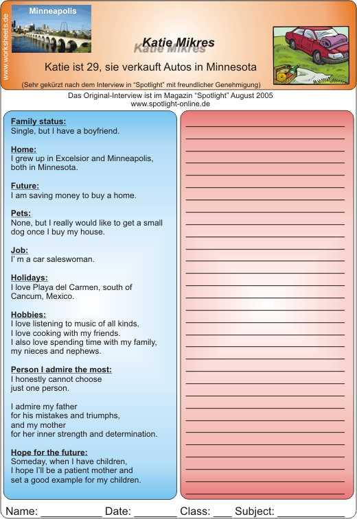 Englisch lernen online kostenlos 4 klasse vorstellung