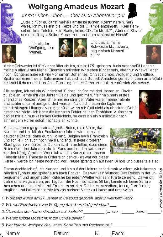 mozart for kids mozart f r kinder biography lebenslauf. Black Bedroom Furniture Sets. Home Design Ideas