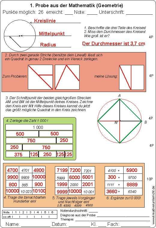 geometrie probe klasse3. Black Bedroom Furniture Sets. Home Design Ideas