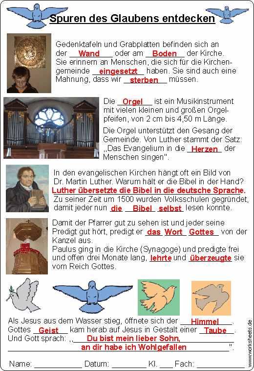 Taube Kanzel Orgel Luther Spuren Des Glaubens 4