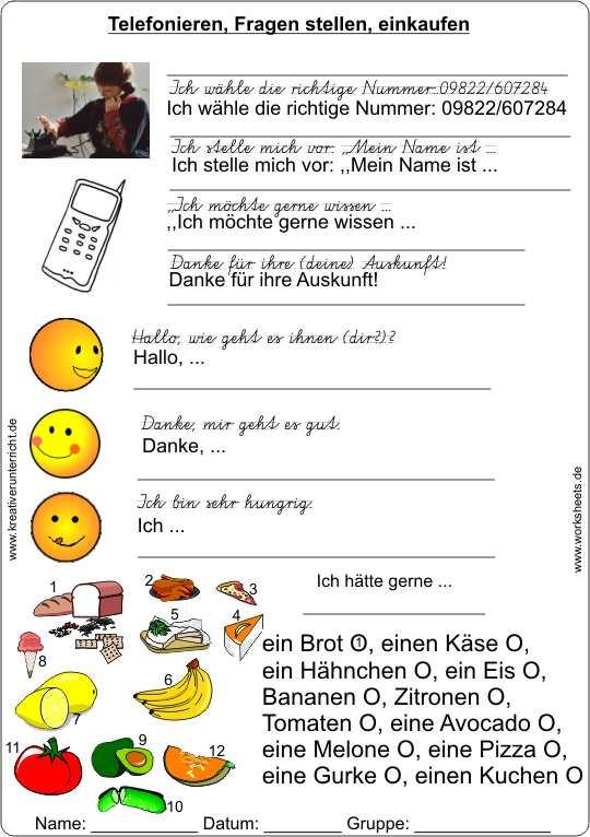 Nett Shopping Arbeitsblatt Galerie - Arbeitsblätter für Kinderarbeit ...