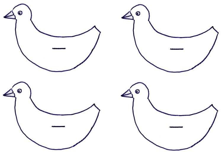 bastelanleitung vogel – bankroute,